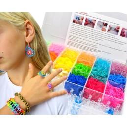 Loom boîte bracelet plastic 5000 Pieces