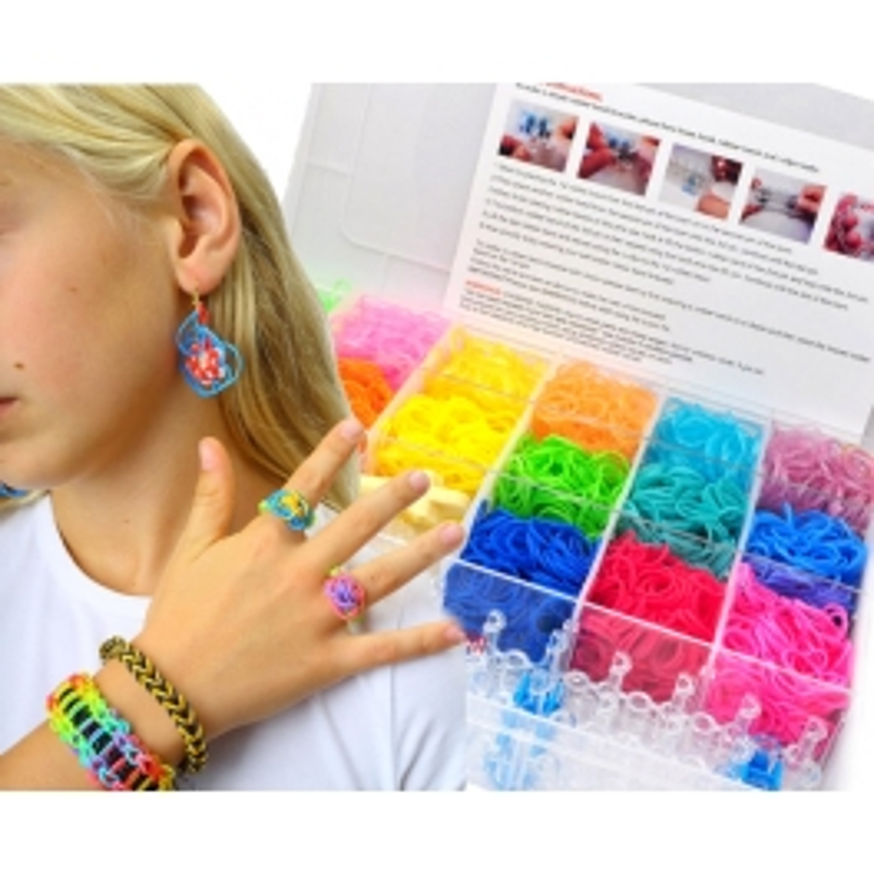 Loomi boîte bracelet plastic 5000 Pieces