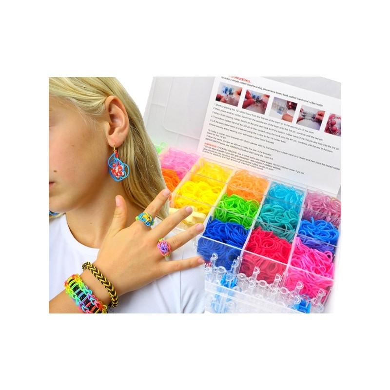 Plastic armband doos Loomi 5000 St