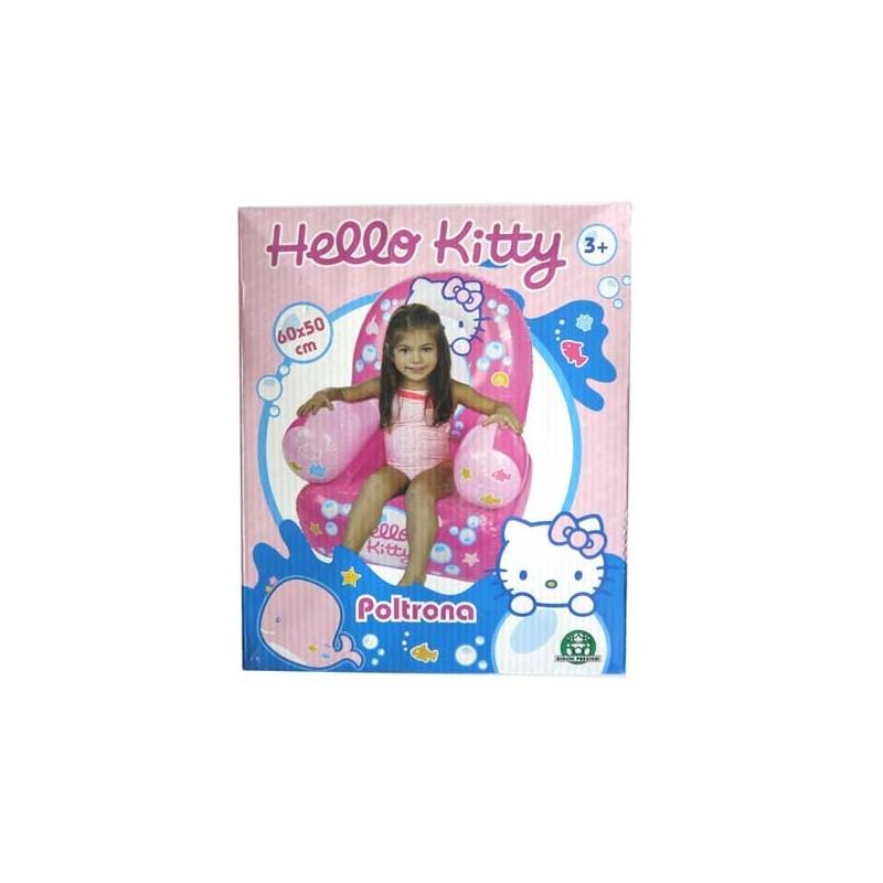 opblaasbare stoel 60x50 CM Hello Kitty
