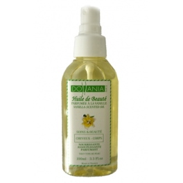DOLLANIA VANILLA SCENTED OIL HAIR AND BODY 100 ML
