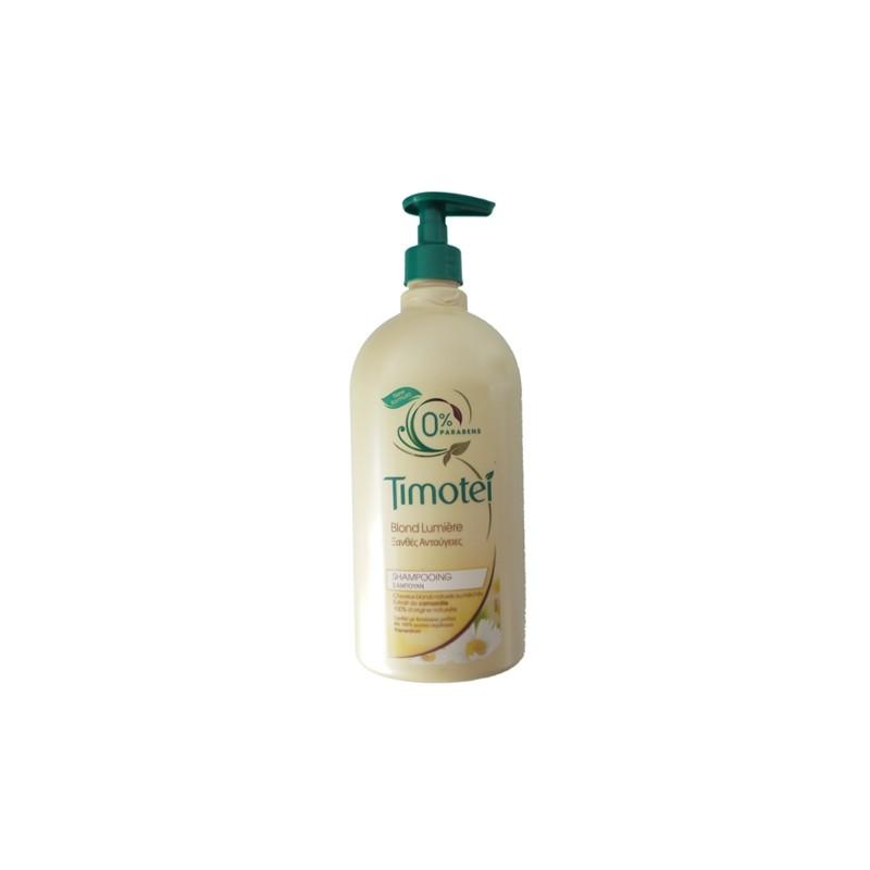 TIMOTEI SHAMPOOING 750 ML BLOND LUMIERE