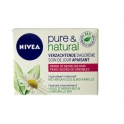 NIVEA VISAGE PURE & NATURAL DAGCREME    50 ML DROGE OF GEVOELIGE HUID