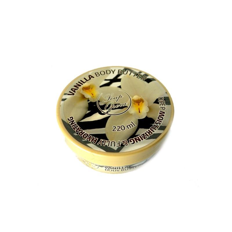 BODY BUTTER SOAP OPERA 220 ML  VANILLA