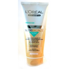 L'OREAL BODY-EXPERTISE NUTRIBRONZE SLIM 200 ML  PEAUX CLAIRES