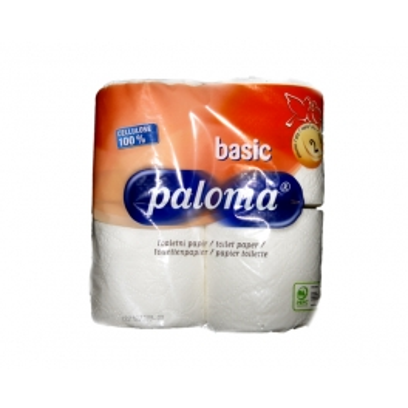 Toilet paper Paloma Layer 2 - 4x rolls