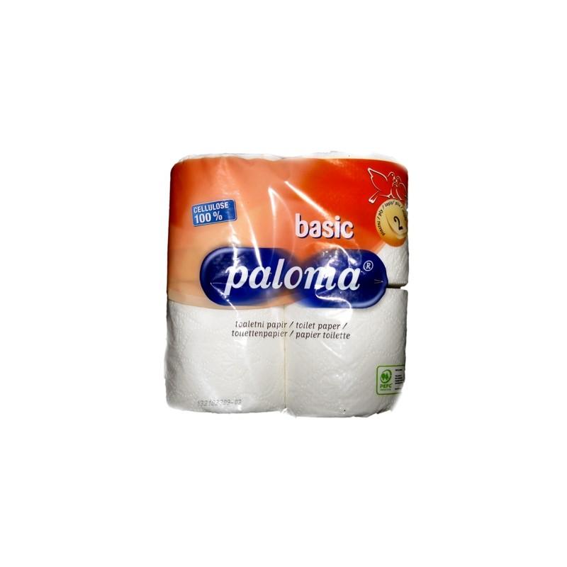 Toilettenpapier Paloma Layer 2 - 4x Rollen