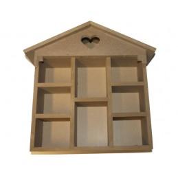 Mini-Haus für die Malerei 30 x 26 cm