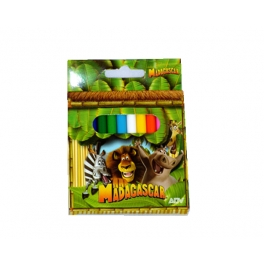 MADAGASCAR COLOUR PENCILS X12