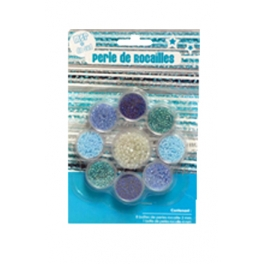 BEADS ROCK SOUTH SEA 9 PCS