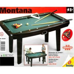 BILLARD MONTANA 183X107X78 cm / Spielplatz 159X79 cm