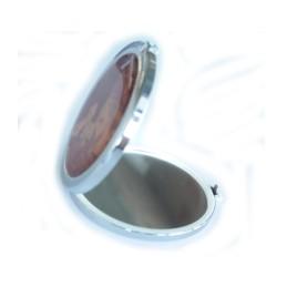 Round pocket mirror