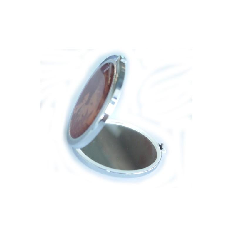 Ronde pocket spiegel