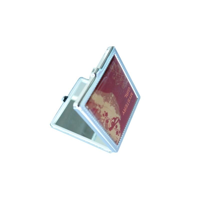 Spiegel quadratisch Tasche