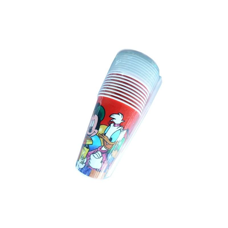 STRAW CUP DISNEY 300CC X 10