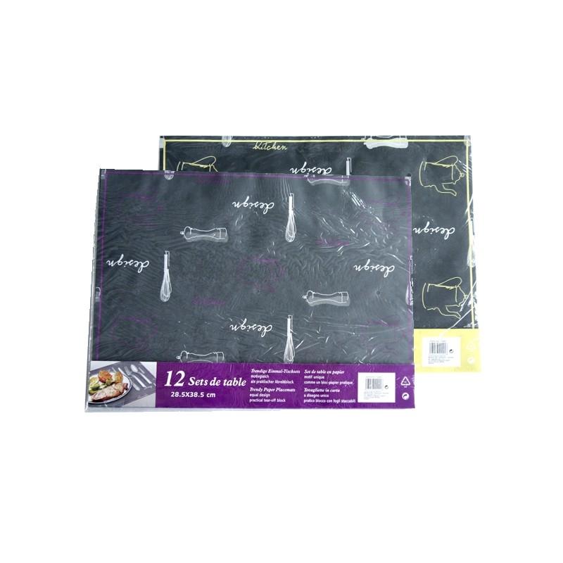 TABLE SET PAPER X 12