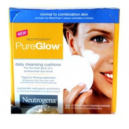 NEUTROGENA PURE GLOW COUSSINETS NETTOYANTS X 22