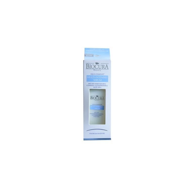Sérum Aqua complète multi-intensive Biocura 50 ML BLEU