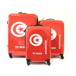 Kofferset X3 TUNISIEN