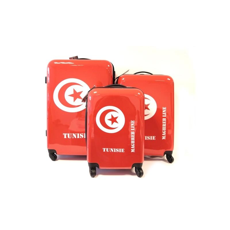 SET VALISES X3 TUNISIE