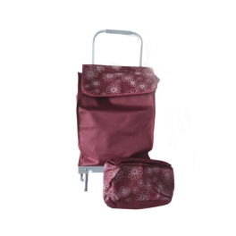 SHOPPING TROLLEY RED