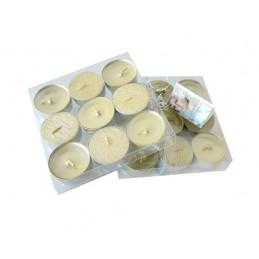 Teelichter DIAMOND COLLECTION 9st GOLD COLOR (3,5 Stunden)
