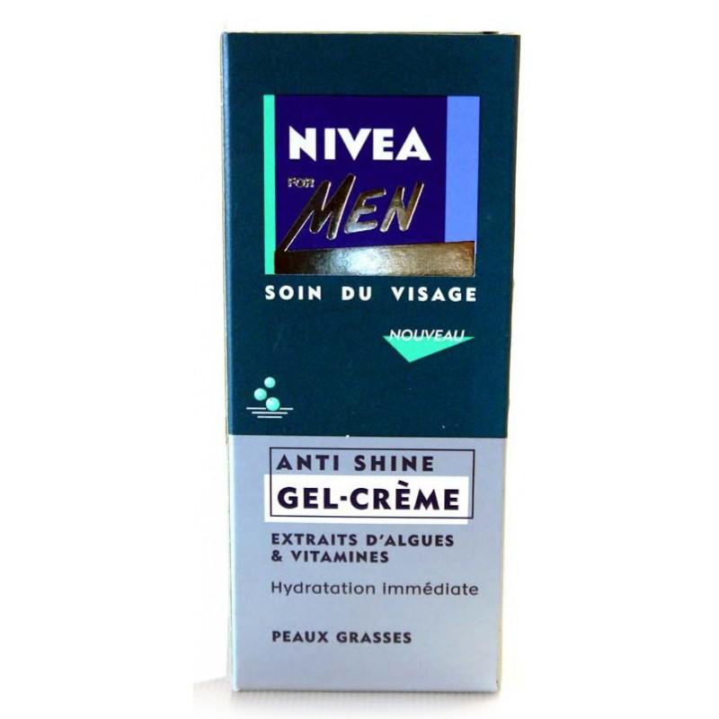NIVEA FOR MEN ANTI SHINE GEZICHTSCREME  75 ML