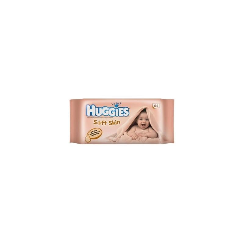 HUGGIES LINGETTES BEBE SOFT SKIN X64