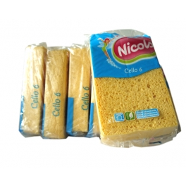 NICOLS SPONGE CELLULOSES CELLO 6