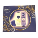 NIVEA GIFTSET PLEASURE 2014    (DOUCHE 250 ML+BM ONDER DE DOUCHE 250ML)