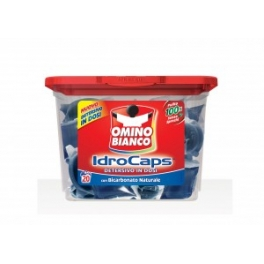 Omino BIANCO IDRO CAPS 30 GR 20 ST WITH NATURAL CLEANING