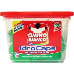 OMINO BIANCO IDRO CAPS 30 GR 20 ST MET NATUURLIJKE WASVERZACHTER