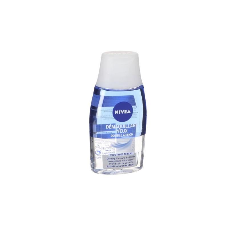 NIVEA VISAGE DOUBLE EFFECT DEMAQUILLANT YEUX 125 ML