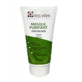 MISS EDEN PURIFYING MASK 150 ML WITH PLANTS AND CLAY