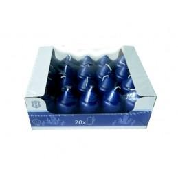 SPAAS HL-PILLAR KAARS 7 CM X20         BLAUW (7-9 BRANDUREN)