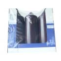 SPAAS HL-PILLAR BOUGIE 20 CM X6  MAUVE (75 HEURES)