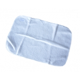 MICROFIBER CLOTH WHITE 36.5 CM X 24 CM