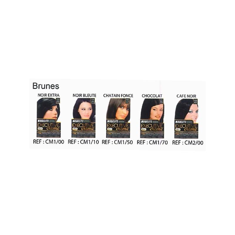 """Haarfarbe """"Brown"""" Modelite"""