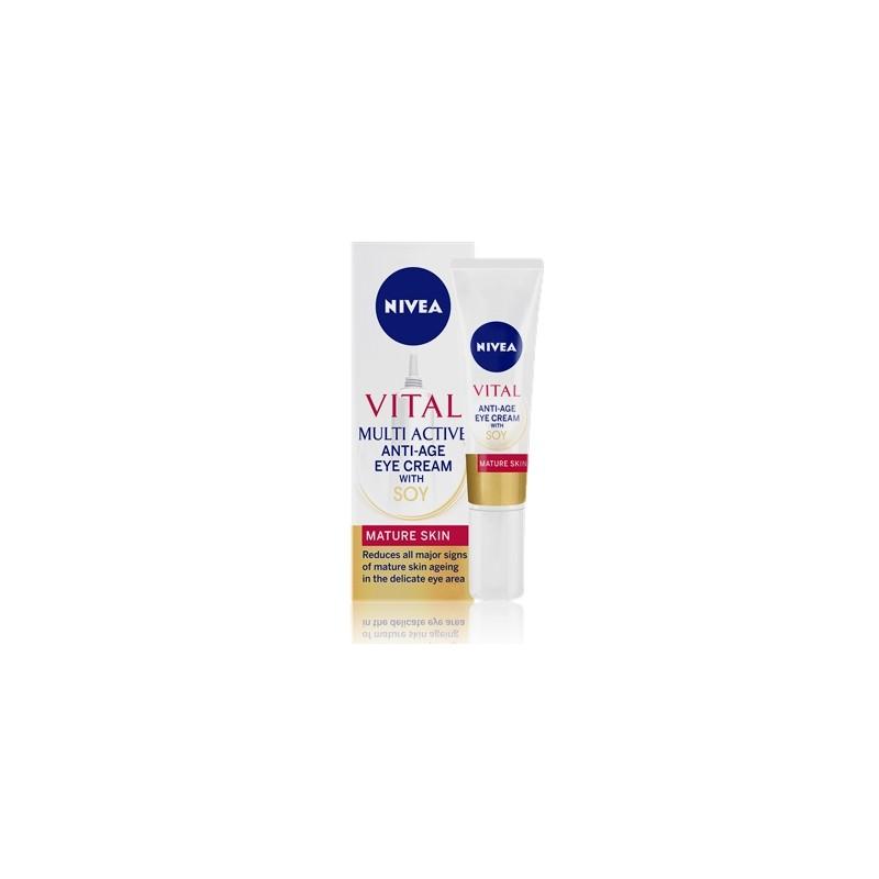 NIVEA VISAGE VITAL MULTI ACTIVE ANTI-AGE 40 ML REIFE HAUT