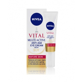NIVEA VISAGE VITAL MULTI ACTIVE ANTI-AGE 40 ML (RIJPERE HUID)