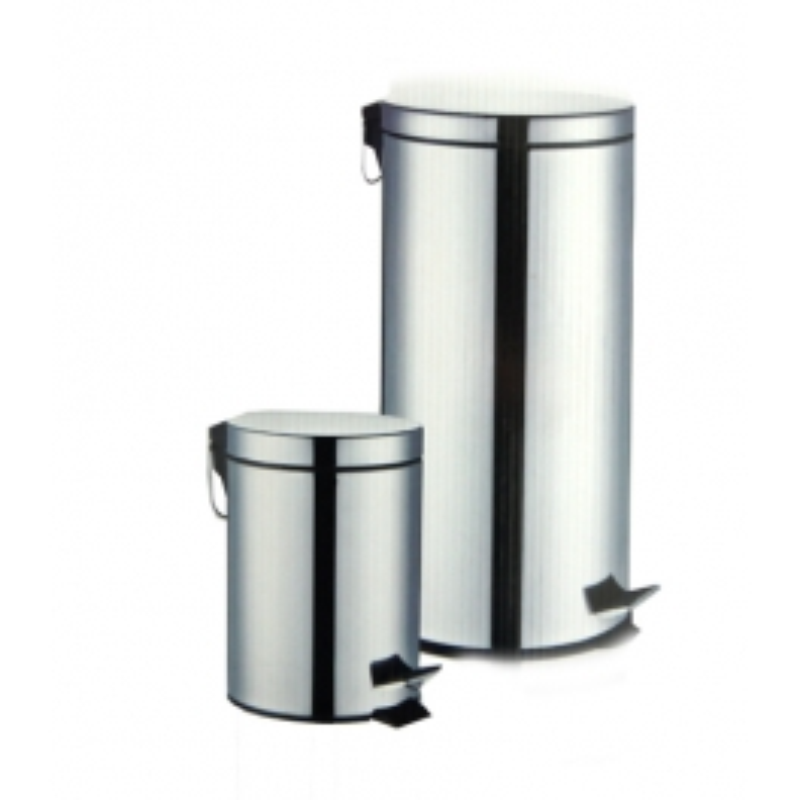 SET 2 STEEL Treteimer (3 L & 30 L)