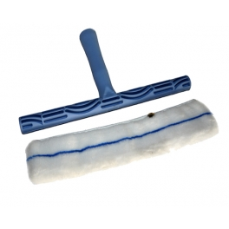 Support T 30 cm + Housse lavage de vitres