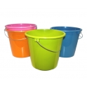 BUCKET LIGHT COLORED 5 LITRE