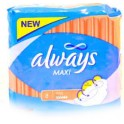 ALWAYS SERVIETTES HYGIENIQUES MAXI PLUS 8 PCS