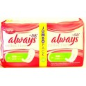 ALWAYS MAANDVERBANDEN SILK ULTRA NORMAL 28 ST