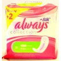 ALWAYS SERVIETTES HYGIENIQUES SILK ULTRA NORMAL 16 PCS