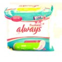 ALWAYS SERVIETTES HYGIENIQUES FRESHNESS ULTRA NORMAL X14