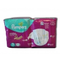PAMPERS PREMIUM PROTECTION ACTIVE FIT N°3 MIDI 62 PIECES (5-9 KG)