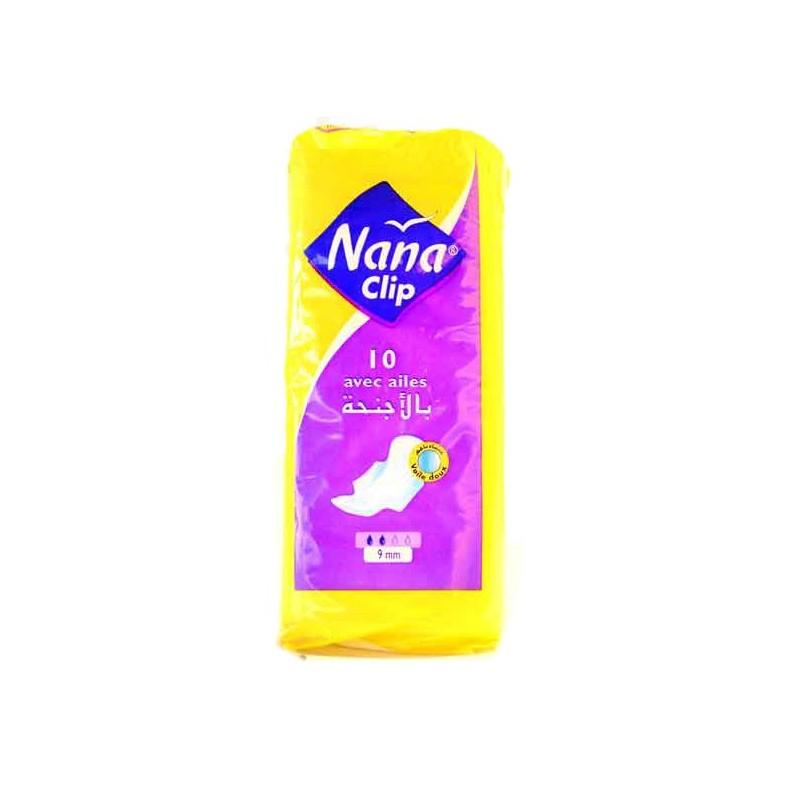NANA SERVIETTE HYGIENE CLIP 9 MM X10