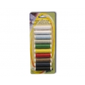 MAGIC 10 ROLLETJES POLYESTER DRAAD 4,5 M/ROL